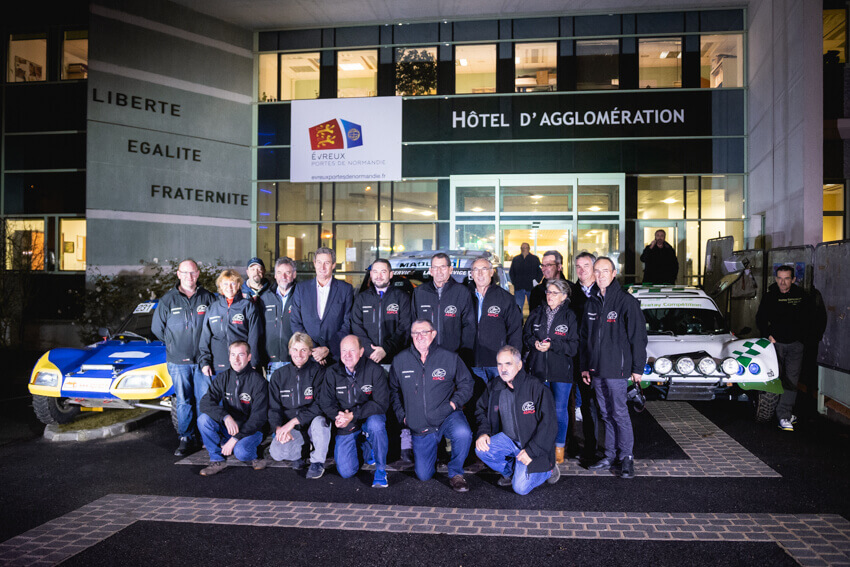 Equipe ASACA Rallye TT Plaines et Vallees Championnat de France Normandie